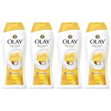 Olay Ultra Moisture Shea Butter Body Wash, 22 oz, (4 Count)