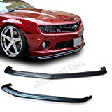 NEW - 10-12 CHEVY CAMARO SS V8 SLP Style PU Front Bumper Lip Chin Spoiler
