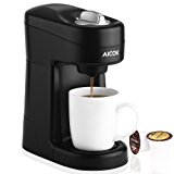Aicok Single Serve Coffee Maker, Coffee Machine for Most Single Cup Pods Including K-Cup Pods, Quick Brew Technology, CM805