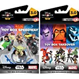 Disney Infinity 3.0 Edition: Toy Box Takeover and Toy Box Speedway Game Expansion Bundle - Not Machine Specific