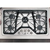 "GE Cafe CGP650SETSS 36"" Built-In Gas Cooktop"
