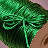 Emerald Green Rat Tail Cord, 2mm X 200Yd