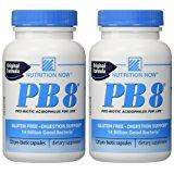 Nutrition Now - PB 8 Pro-Biotic Acidophilus - 120 Capsules (pack of 2)