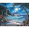 """Dimensions Paint By Number Craft Kit Painting, 20"""" x 16"""", Moonlit ..."""