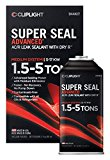 Cliplight Super Seal Advanced 944KIT - Permanently Seals & Prevents Leaks in A/C & Refrigeration Systems - 1.5-5 TONS