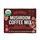 Four Sigmatic Mushroom Coffee with Cordyceps & Chaga, 0.09 Ounce (10 Count)
