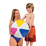 "Intex Inflatable Beach Ball Assorted Colors, 24"", 59030EP (2-Pack)"