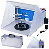Master Airbrush Brand Portable Hobby Airbrush Spray Booth for Painting All Art, Cake, Craft, Hobby, Nails, T-shirts & More.