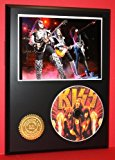Kiss Limited Edition Picture Disc CD Rare Collectible Music Display