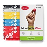 Sugru Moldable Glue - Family-Safe   Skin-Friendly Formula - Classic Colours 8-Pack