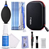 Tycka Professional Camera Cleaning Kit TK005 (with waterproof case), 30ml non-toxic alcohol-free cleaning solution, improved uni-body air blower, cleaning swabs, lenspen for DSLR, Lens and Sensors