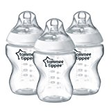 Tommee Tippee Closer to Nature Bottles, 9 Ounce, 3 Count