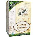 Mate Factor Functional Herbal Blends - Ginger Turmeric with Black Pepper 20 Bag(S)