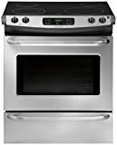 """Frigidaire FFES3025PS ADA Compliant 30"""" Slide-In Electric Range featuring Large Capacity SpaceWise Expandable Elements Ready-Select Controls and Power Cleaning: Stainless"""