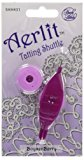 Aerlit Tatting Shuttle With 2 Bobbins-Boysenberry