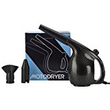 MotoDryer8482; - Motorcycle and Car Dryer. This Blower Dryer has a Powerful Force of Warm-Hot Filtered Air. Great for Car Washing and Motorcycle Cleaning. No More Water Spots or Streaking!