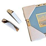 Frame Corner Protectors | Cardboard Corner Protectors | Adjustable Picture Frame Corners for Shipping, Packing or Moving Art - 40 Cardboard Corners