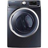 Samsung DV45H6300EG 7.5 Cu. Ft. Front-Load Electric Steam Dryer with Vent Sensor, Onyx