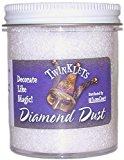 FloraCraft Diamond Dust Glitter Plastic Jar, 6-Ounce