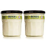MRS MEYERS Soy Candle Large, Lemon Verbena, 7.2 Ounce (Pack of 2)