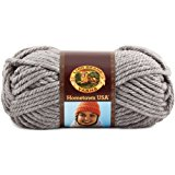 Lion Brand Yarn 135-149K Hometown USA Yarn, Dallas Grey