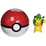 OliaDesign Pokemon Cosplay Pop-up Poke Ball with Pikachu Figure