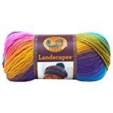 Lion Brand Yarn 545-201 Landscapes Yarn, Boardwalk