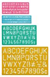 Westcott Letter Stenciling Guides (4 sizes)
