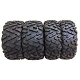 Set of 4 New WANDA ATV/UTV Tires 27x9-14 Front & 27x11-14 Rear /6PR P350 - 10171/10174