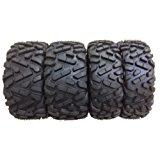 Set of 4 New WANDA ATV/UTV Tires 27x9-14 Front & 27x11-14 Rear /6PR P350 - 10171/10174
