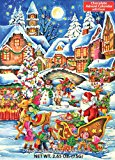 Santa's Here Chocolate Advent Calendar 2.65 oz (75 g)
