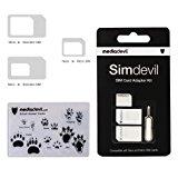 MediaDevil Simdevil 3-in-1 SIM Card Adapter Kit (Nano / Micro / Standard)