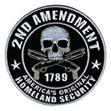 "Hot Leathers Homeland Security Patch (4"" Width x 4"" Height)"