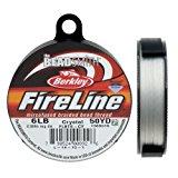"""Fireline XCR-1278 Crystal Braided Beading Thread, .008""""/50 yd"""