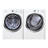 Electrolux Laundry Bundle   Electrolux EIFLS60JIW Washer & Electrolux EIMED60JIW Electric Dryer - White