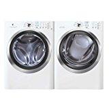 Electrolux Laundry Bundle | Electrolux EIFLS60JIW Washer & Electrolux EIMED60JIW Electric Dryer - White