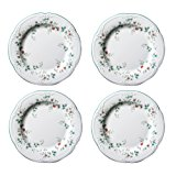Pfaltzgraff Winterberry 10-1/2-Inch Dinner Plates, Set of 4