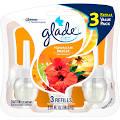 Glade PlugIns Scented Oil Air Freshener Refill, Hawaiian Breeze, 3 ...