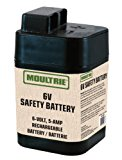 Moultrie 6-Volt, 5-Amp Rechargeable Safety Battery