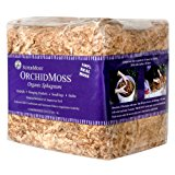 SuperMoss (22325) Orchid Sphagnum Moss Dried, Natural, 1lb Mini Bale