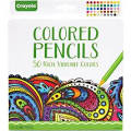Crayola 50-Count Colored Pencils - Assorted Lead - 50 / Set