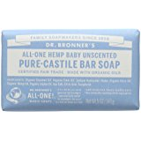 Dr. Bronners Bar Baby Mild Unscented 5oz. Soap