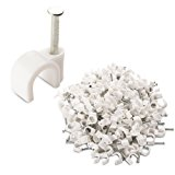 Cable Matters (200-Pack) Nail-In Cable Clips
