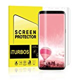 (2 Pack)Galaxy S8 Screen Protector,iTURBOS full screen 3D screen protector film for Samsung Galaxy S8
