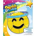 Colorbok Makit & Bakit Suncatcher Kit Emoji Angel 456186