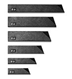 Cangshan 61741 6-Piece Knife Edge Guard Set, Black
