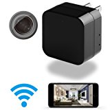 Hidden Camera - 1080p HD - WiFi Remote View - Motion Detection - Charging Phones (Support 128G Micro SD Card) by Phreilend