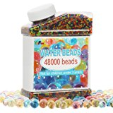 Water Beads (48000 Beads) Rainbow Mix for Crystal Water Gel Balls