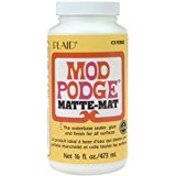 Mod Podge Waterbase Sealer, Glue and Finish (16-Ounce), CS11302 Matte Finish