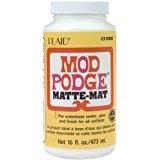 Mod Podge Waterbase Sealer, Glue and Finish (16-Ounce), CS11302 Matte Finish